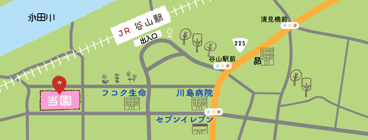 COCON保育園 MAP
